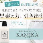 KAMIKA(カミカ)口コミ・効果!白髪や抜け毛対策黒髪クリームシャンプー!